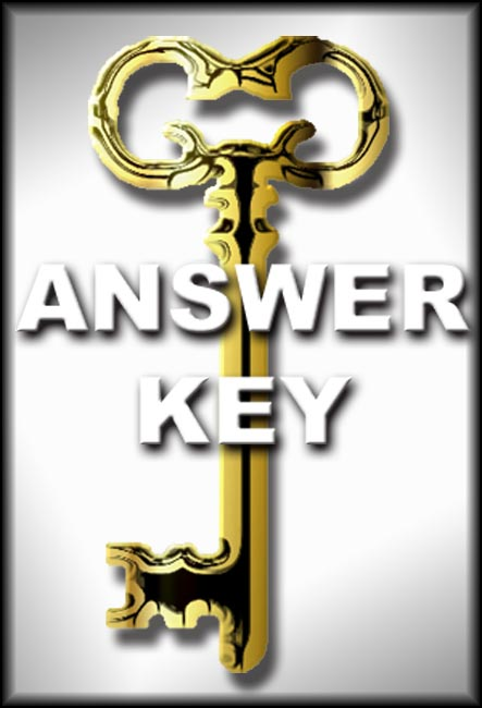 Introduction to the Bible Answer Key